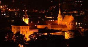 Akershus_festning_by_night